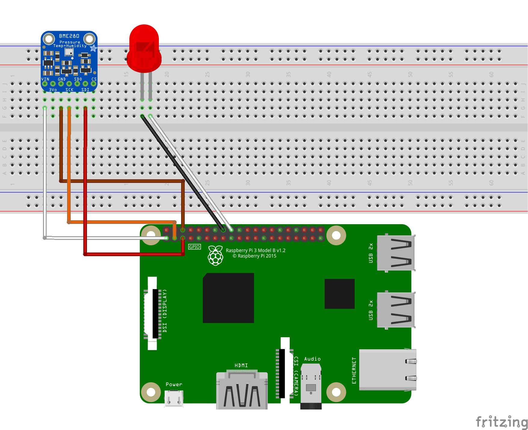 Raspberry Pi Azure IoT Web Simulator